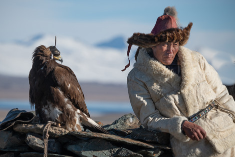 Eagle Hunters, Mongolia, by Joan Miller Photography