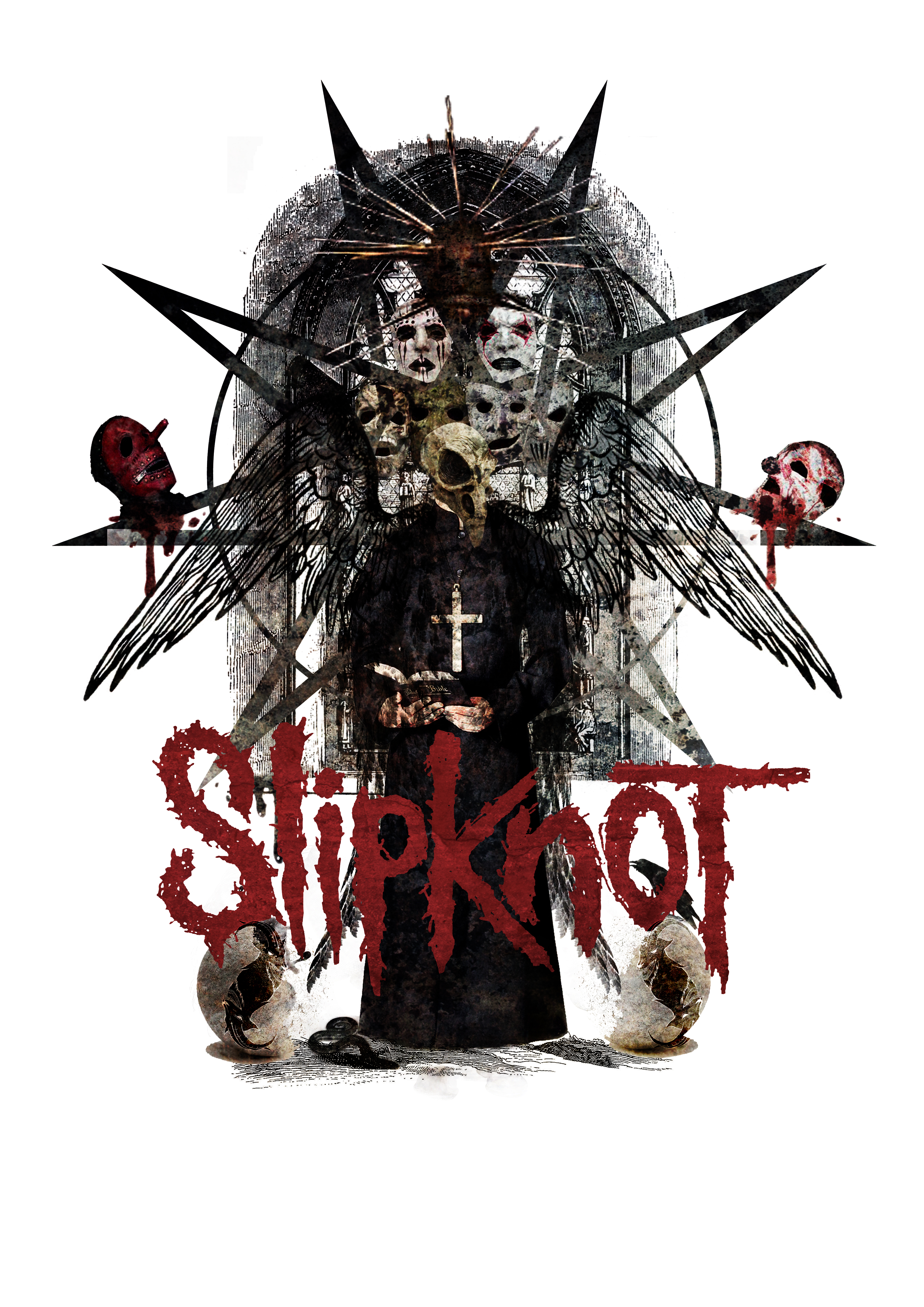 Slipknot T-Shirt design (2)