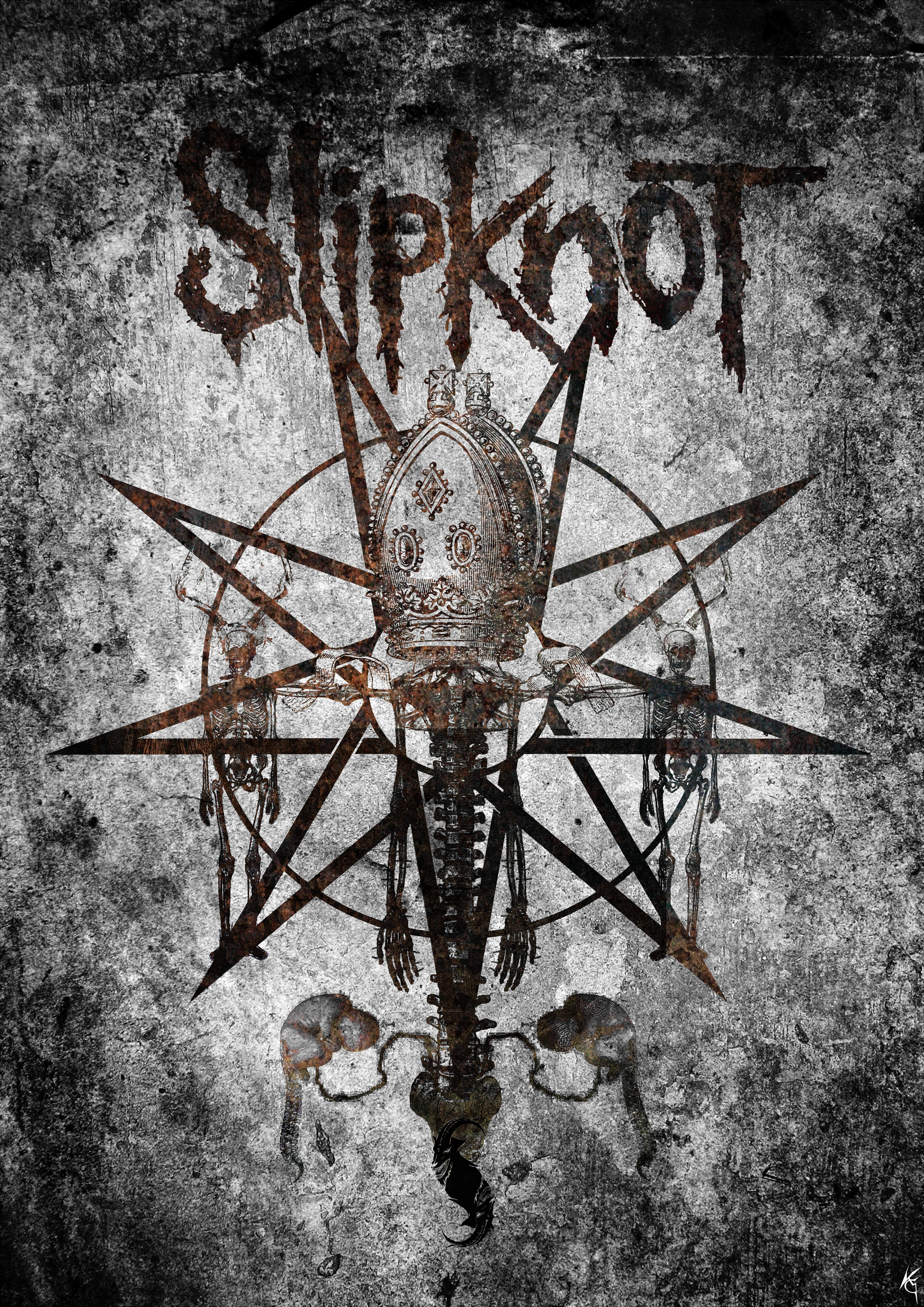 Slipknot T-Shirt design (1)