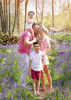 Family Photographer, Essex Bluebells