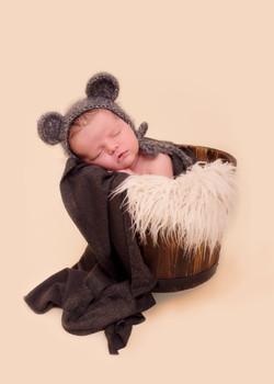 newborn baby Teddy Prop