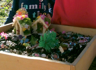 Science for Preschoolers -  Fairy Garden