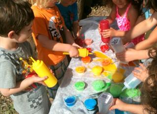 Science for Preschoolers -  Rainbow Activity