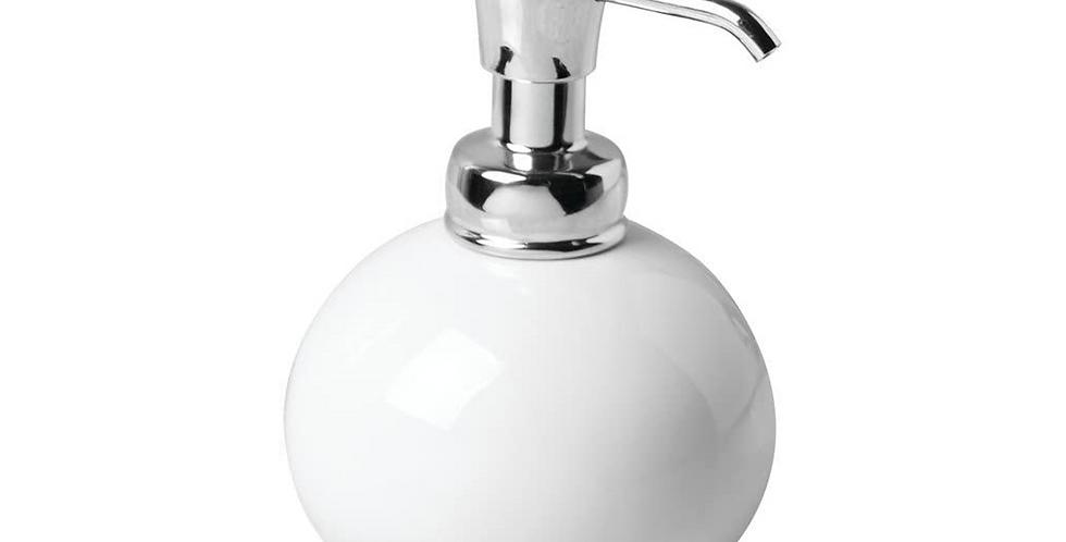 York Round Soap Dispenser Chrome