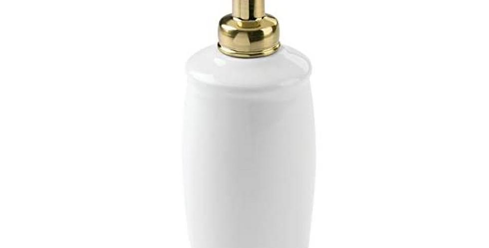 York Soap Dispenser Brass