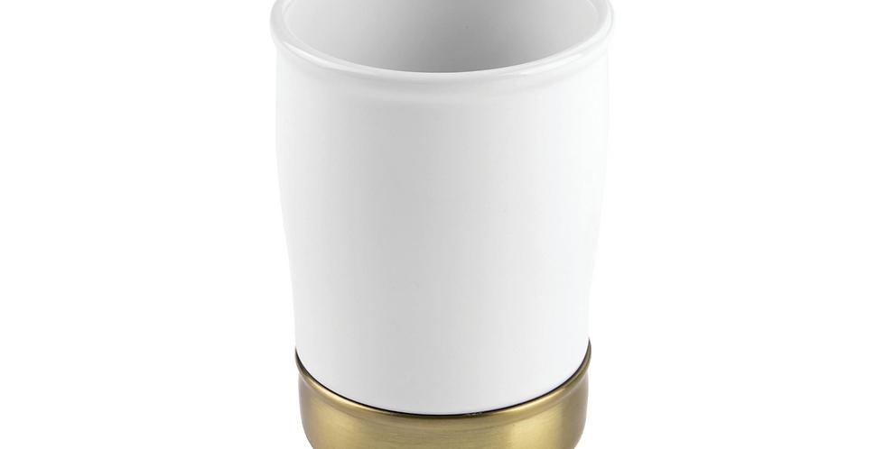 York Tumbler Brass