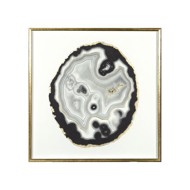 White Geode Frame