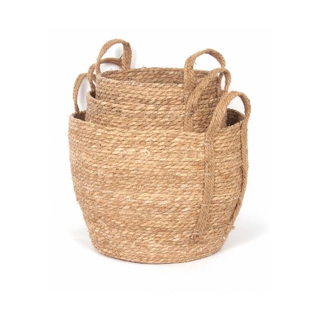 Natural Straw Basket