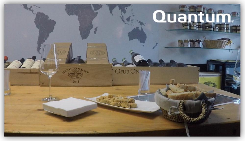 Inauguration de Quantum Luxembourg - Dégustation de vins chez In Vino Gildas