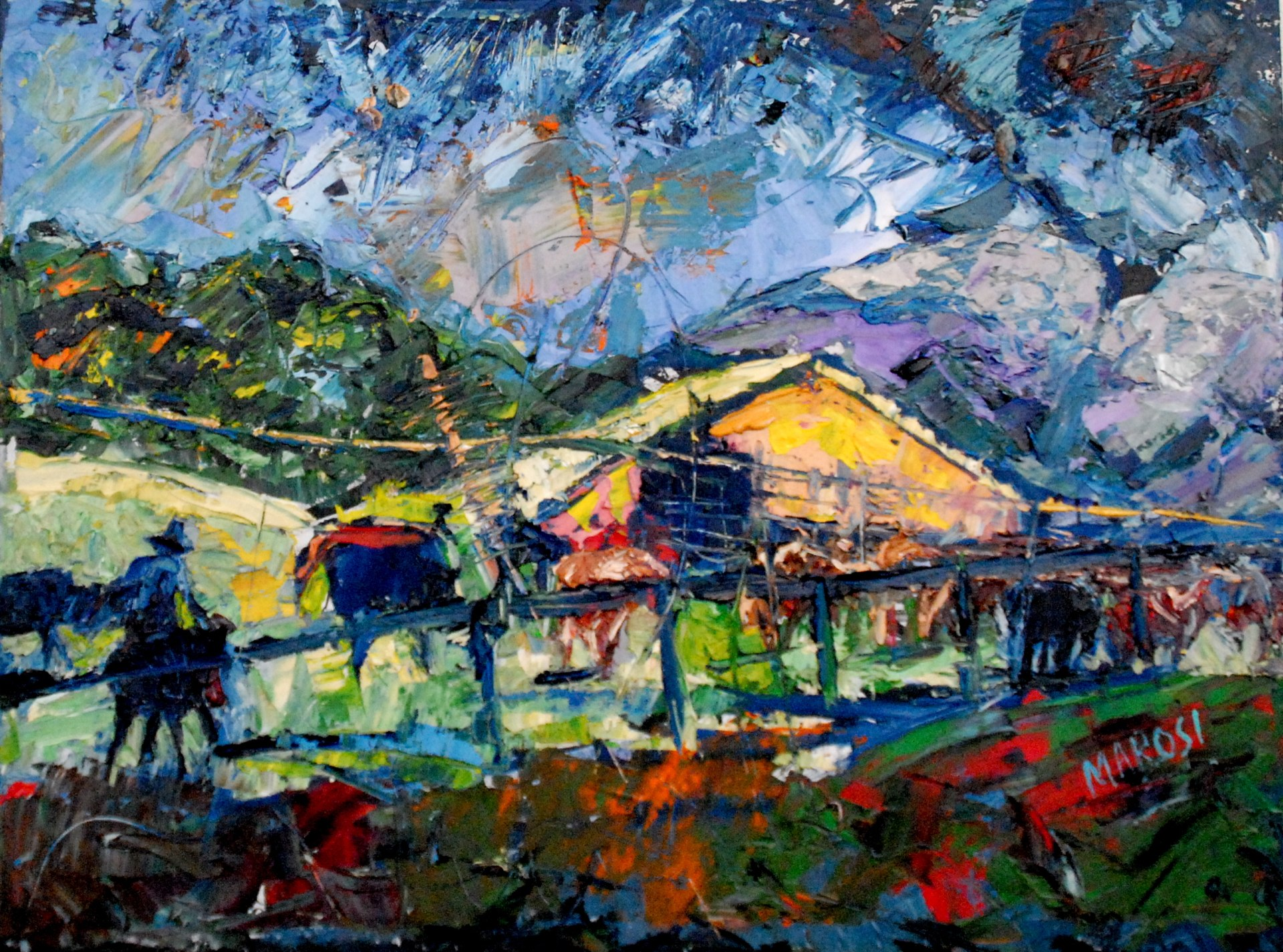 the_ranch(30x40)�4000