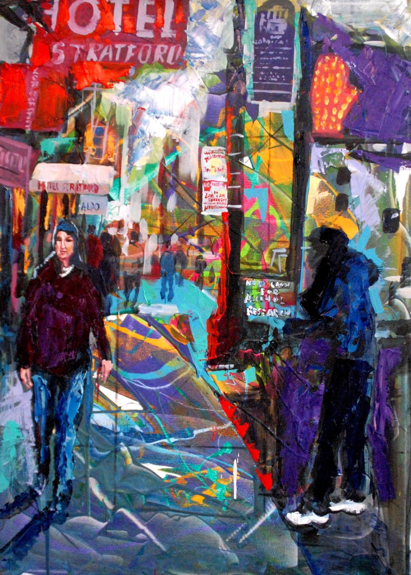 strolling__30x40)(sold)