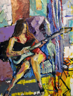 guitarring