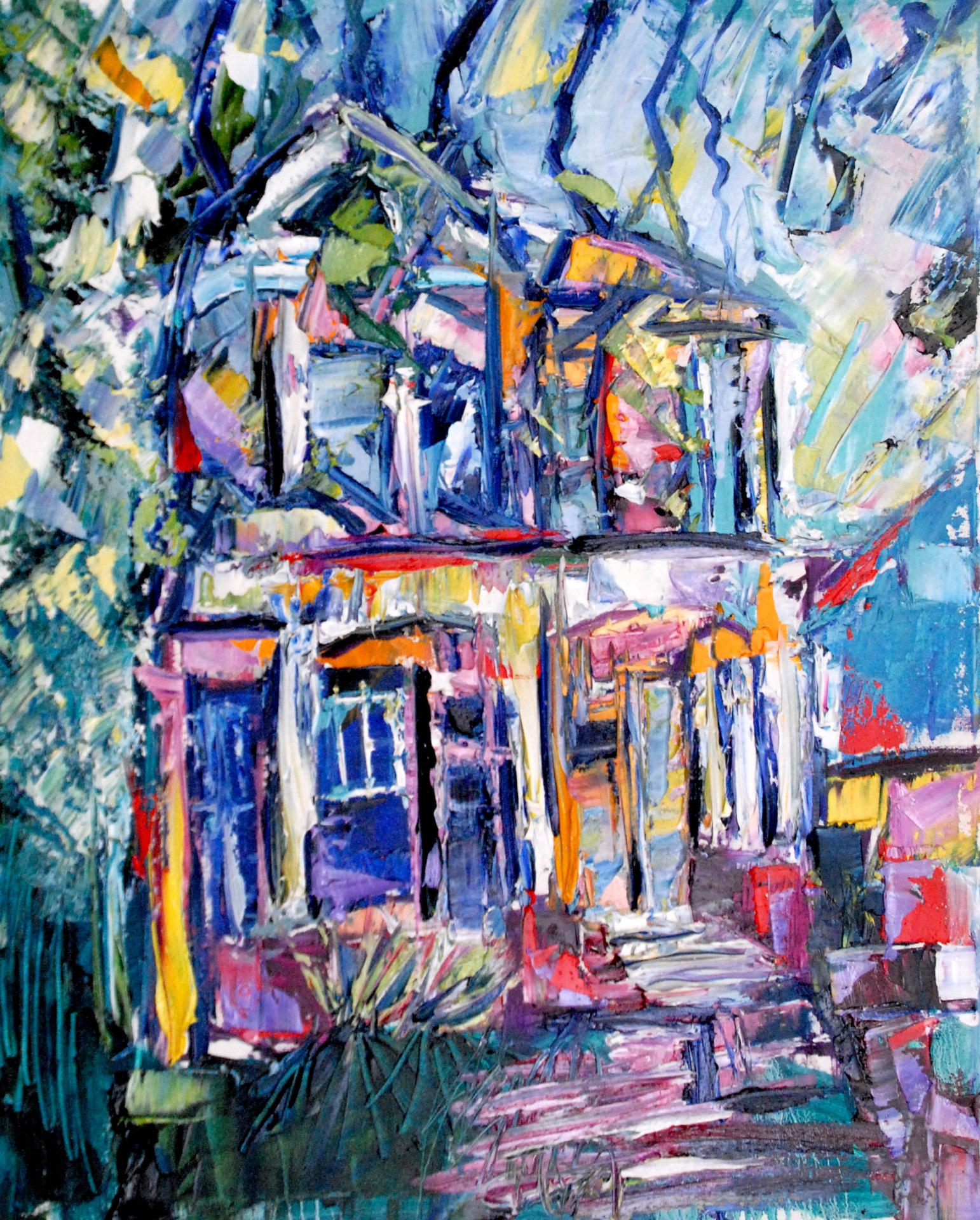 the_old_house__24x30