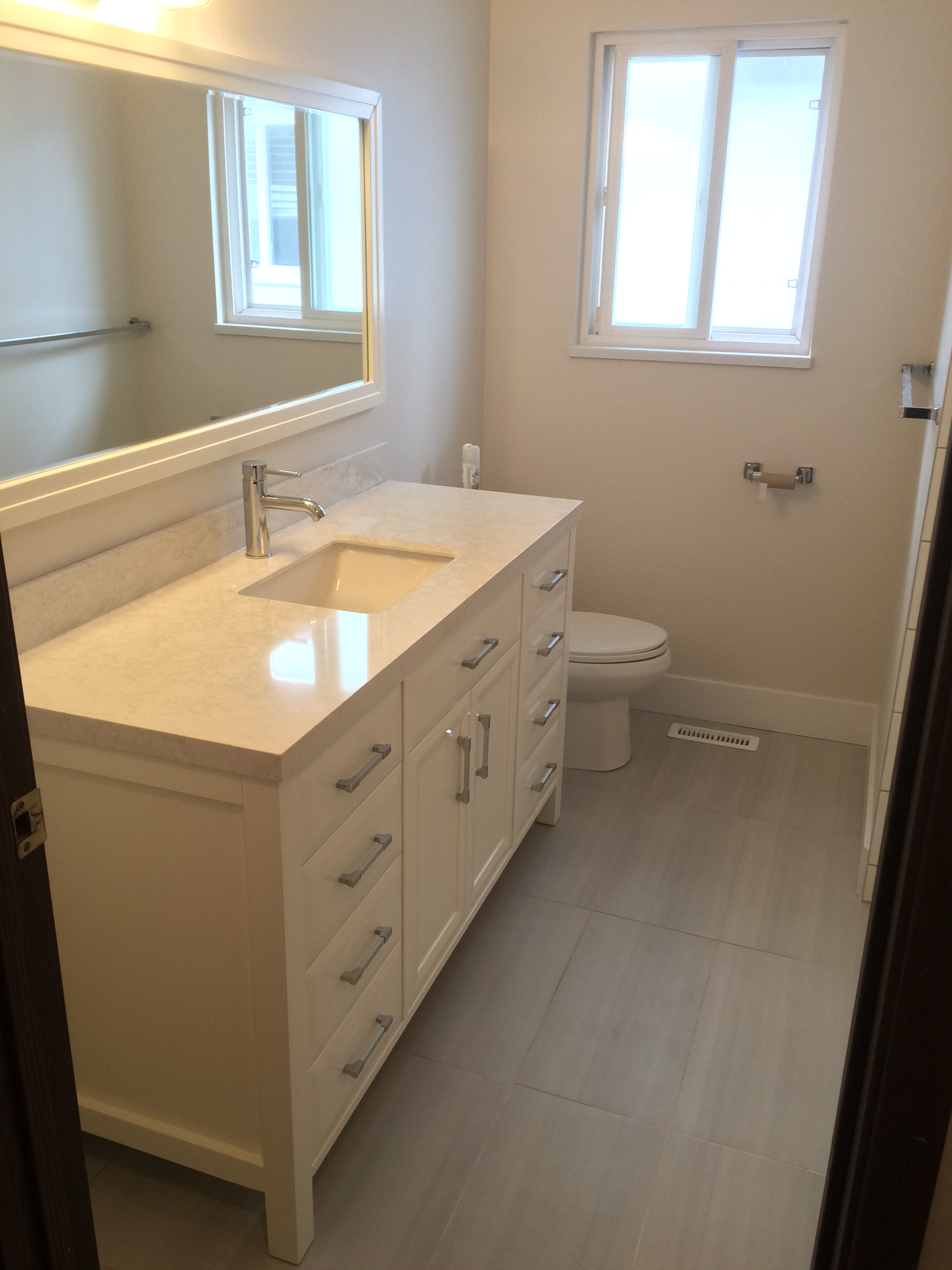 AFTER - Vancouver bathroom reno