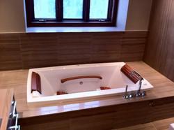 Bathtub install