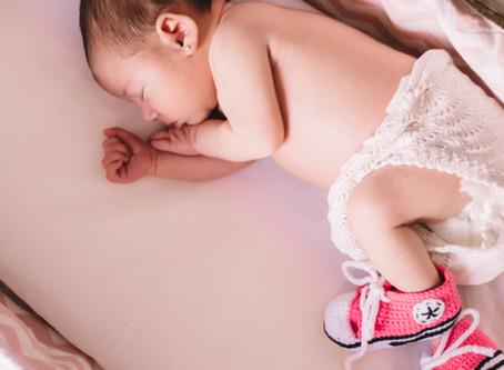 Sesión de bebé a domicilio ♥ ¡Bienvenida, Anna!