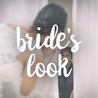 Ver bride's look