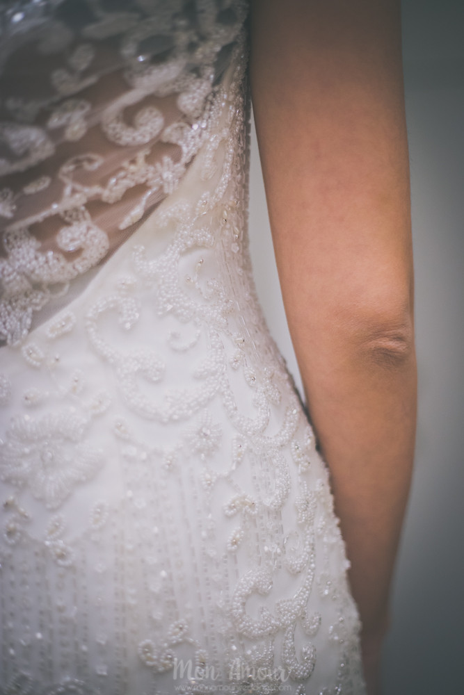 Bride's Look - Mon Amour ♥ Fotografía de bodas - Sesión de prueba de vestido