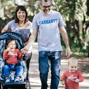 Sesión familiar ♥ ¿Nos vamos a pasear por el parque?