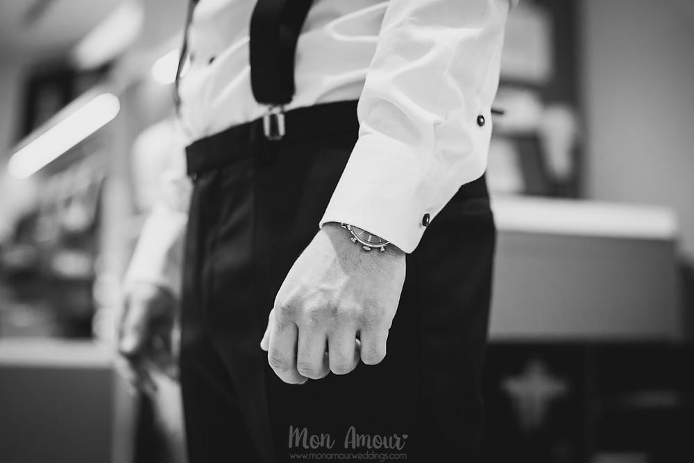 Groom's Look, reportaje de prueba de traje de novio, fotografía natural de bodas en Catalunya - Mon Amour Wedding Photogaphy by Mònica Vidal