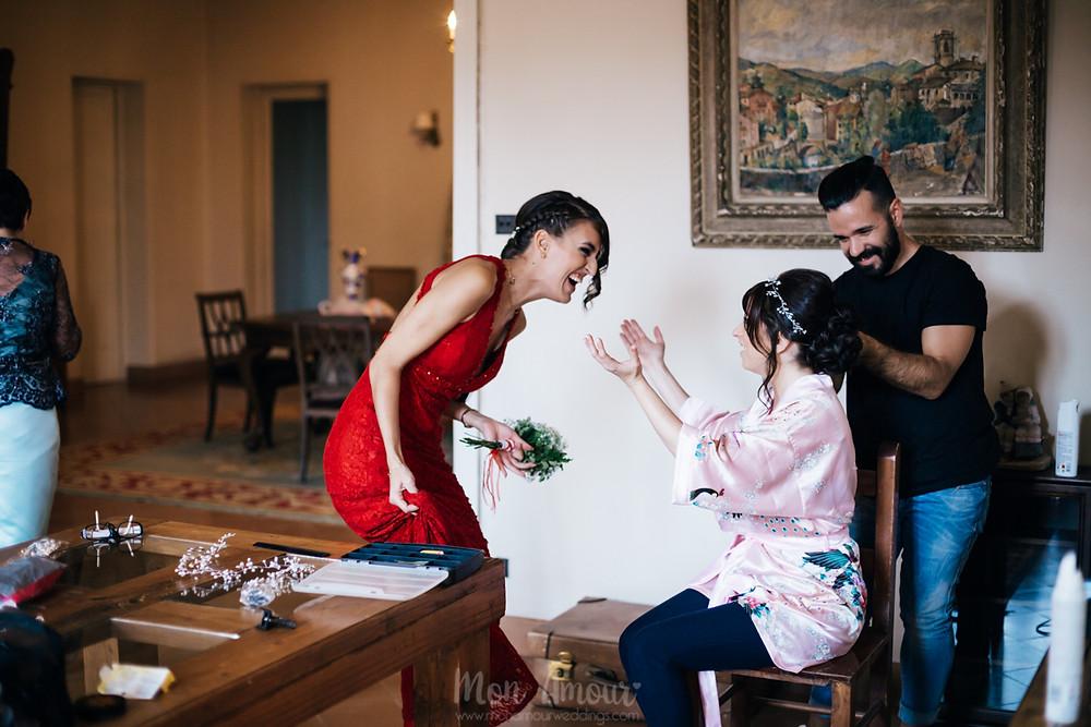 Boda de otoño en Jardins el Roquer, Arbúcies, vestido de novia Teresa Palacios, fusió catering, fotografía natural de bodas en Barcelona - Mon Amour Wedding Photography by Mònica Vidal