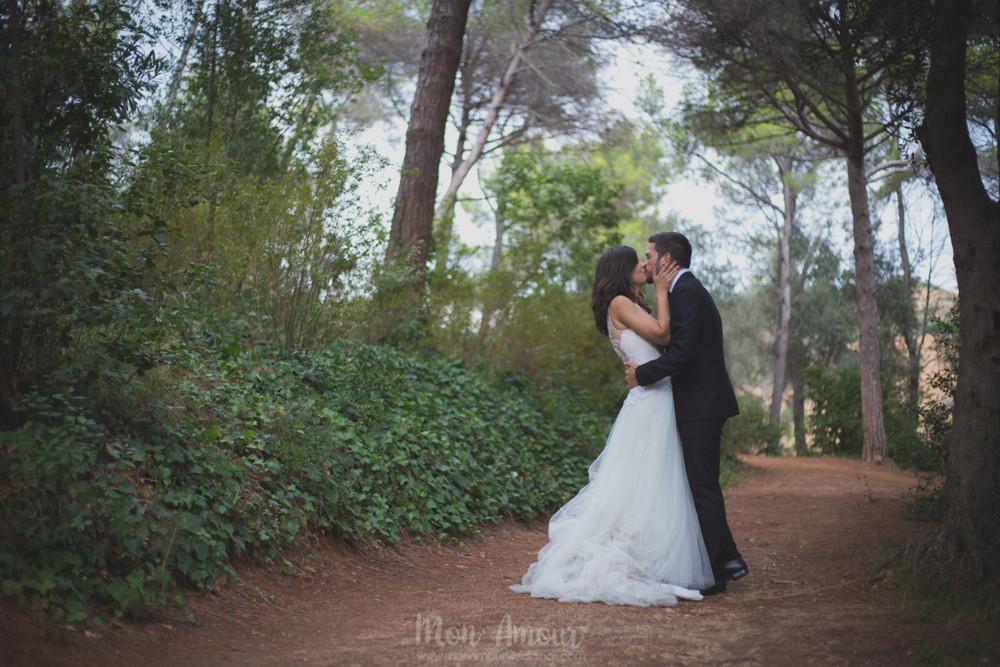 Postboda en Laberint d'Horta  - Fotografía de bodas natural en Barcelona - Mon Amour Wedding Photography