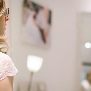 R ♥ Bride's Look, pruebas de vestido de novia en Jordi Anguera