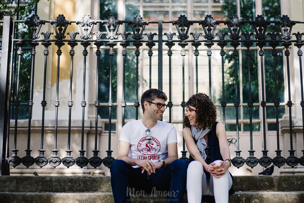 Preboda en el Parc de la Ciutadella, fotografía natural de bodas en Barcelona, Mon Amour Wedding Photography