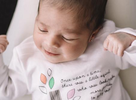 Sesión de bebé a domicilio ♥ ¡Bienvenida, Gala!
