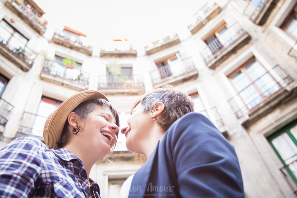 Sesión preboda en Barcelona - Mon Amour wedding photography, fotografía de bodas natural