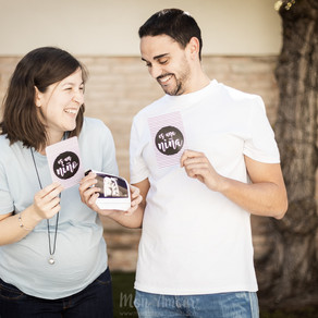 Gender Reveal ♥ Reportaje de embarazo en casa