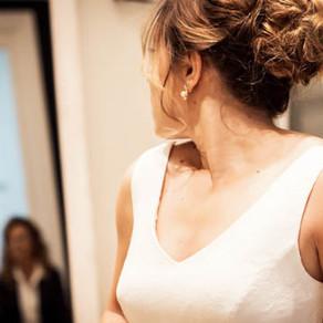 G ♥ Bride's Look, prueba de vestido en Jordi Anguera