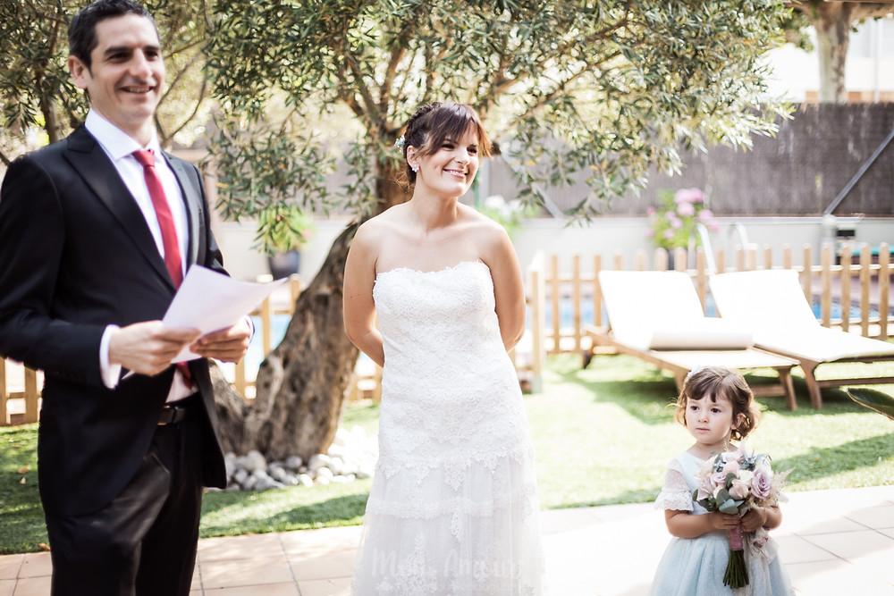 Boda Verano en Sant Pere de Clarà con cátering l'Empordà, fotografia natural de bodas en Barcelona, Mon Amour Wedding Photography by Mònica Vidal