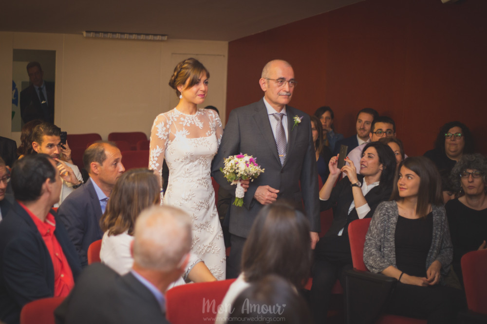 Boda informal en Can Gabarró Vell - Fotografía de bodas en Barcelona - Mon Amour Wedding Photography
