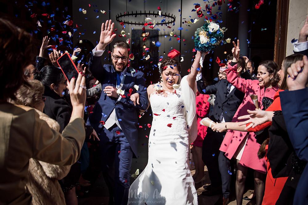Boda invernal en Los Tilos, con cátering l'Empordà, fotografía natural de bodas en Barcelona - Mon Amour Wedding Photography by Mònica Vidal