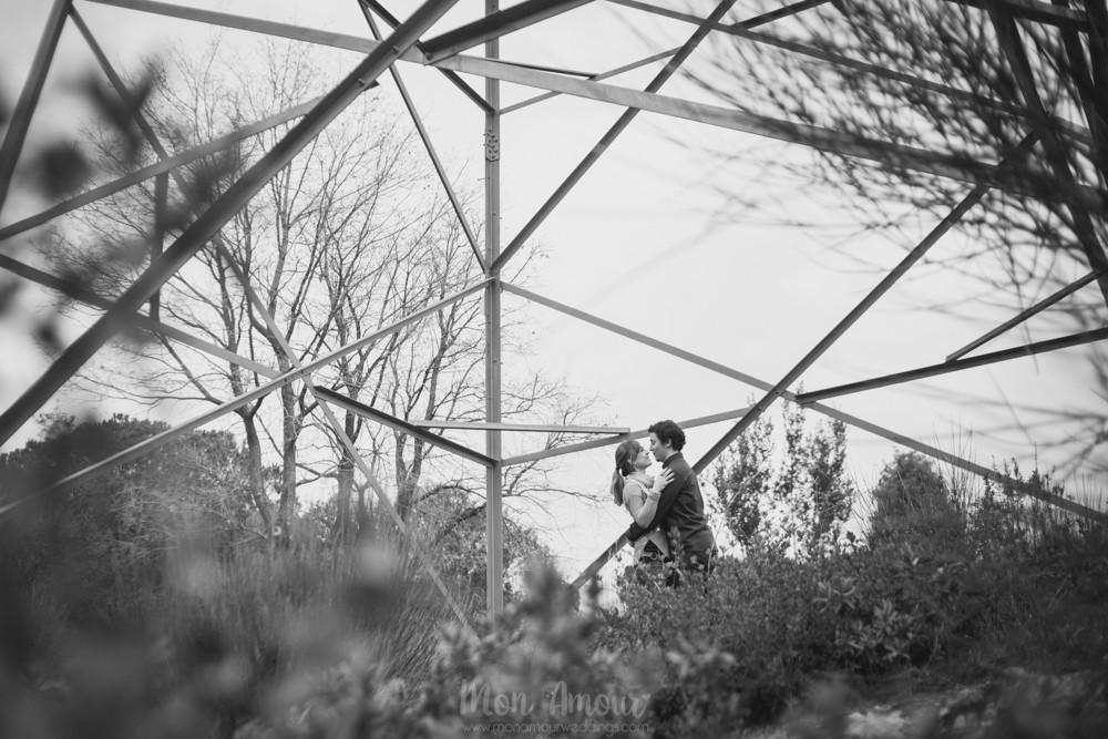 Preboda en el campo - Fotografía de bodas en Barcelona - Mon Amour Wedding Photography