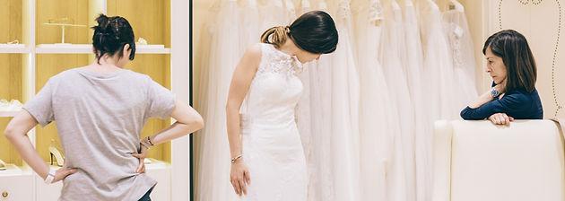 Primera prueba vestido novia pronovias