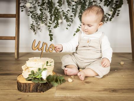Smash Cake ♥ Feliz cupleaños, pequeña E!
