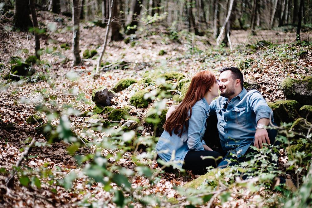 Preboda en la Fageda de'n Jordà, fotografía natural de bodas en Barcelona - Mon Amour Wedding Photography