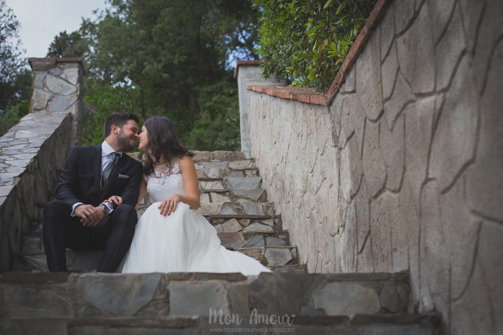 Postboda en Tibidabo  - Fotografía de bodas natural en Barcelona - Mon Amour Wedding Photography