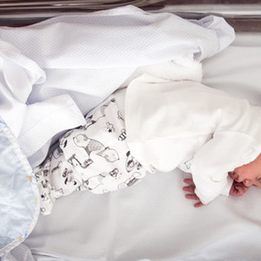 Sesión de bebé ♥ La bienvenida de Martí en el hospital