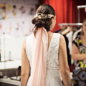 D ♥ Bride's Look, cuando el vestido de novia lo diseña tu amiga