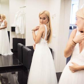 B ♥ Brides look en Aire Barcelona, personalizando el vestido de novia