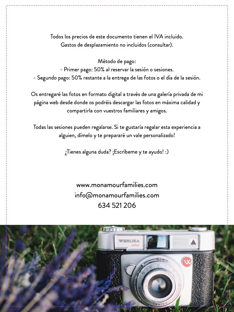 Mon Amour Family Photography - fotografi