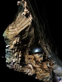 Entrée de la seconde cavité de la grotte