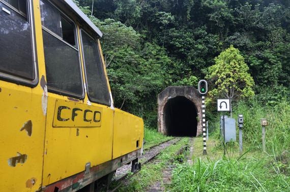 Entrée du tunnel de Nzoungou Kibangou
