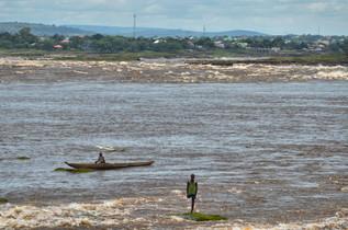 Les rapides du fleuve Congo