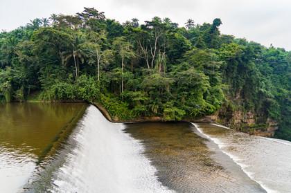 Installation du barrage
