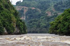 Vue sur le pont de Sounda