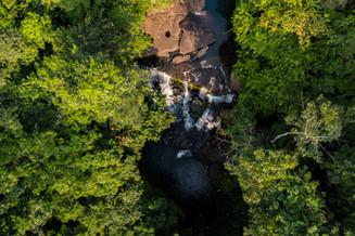 Vue aérienne de Nkita